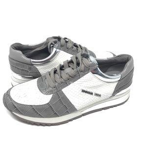 Michael kors  Allie wrap trainer gray/white 7m